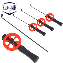 HAODIAOZHE Winter Ice Fishing Rod 33cm Portable Pole with Reels Sport Ultra-light Tackle Casting Hard YU467