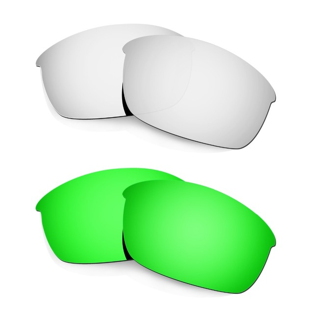 HKUCO Mens Replacement Lenses For Oakley Racing Jacket Vented - 2 pair aQGNj