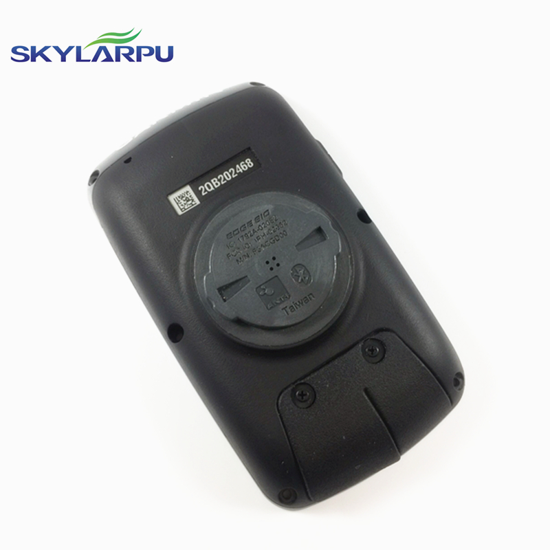 skylarpu Black rear cover for GARMIN EDGE 810 bicycle speed meter back cover With Battery Repair replacement Free shipping bbq fuka rear trunk shade cargo cover fit for 2011 2013 ford edge black