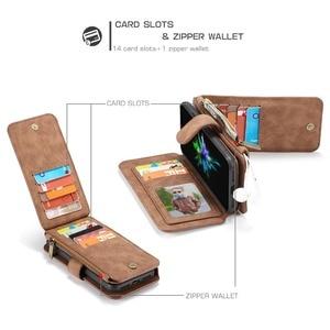 Image 2 - Pour iPhone 11 étui portefeuille 2 en 1 détachable magnétique housse en cuir pour iPhone 12 Pro Max 12 XR SE 2020 XS 7 7plus 8 6S