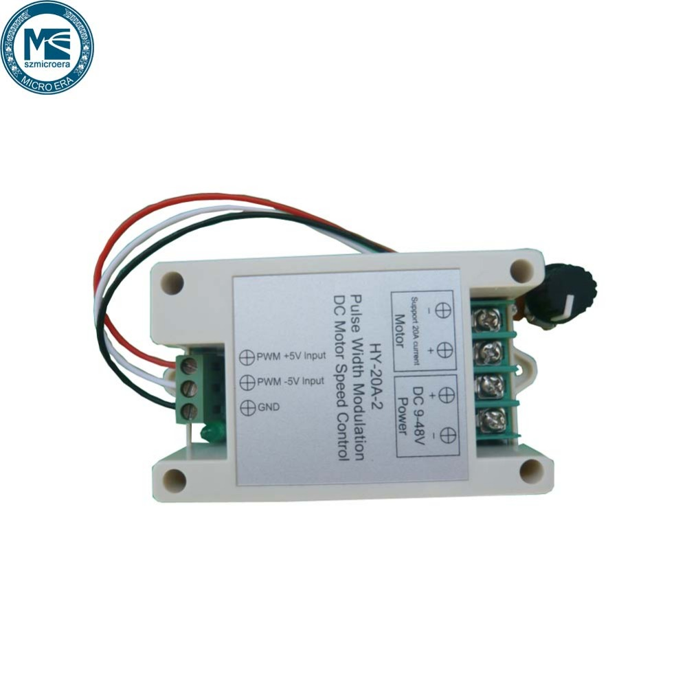 Pwm Motor Speed Controller With Adjustable Delay Timer Electronic