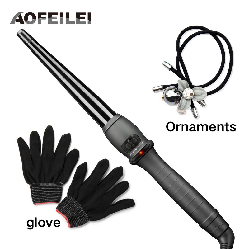 2017 New Sale Professional Ceramic Hair Curler Iron Curling Wand Rollers Waver Styling Tools Styler Quick Heat Electric Curly