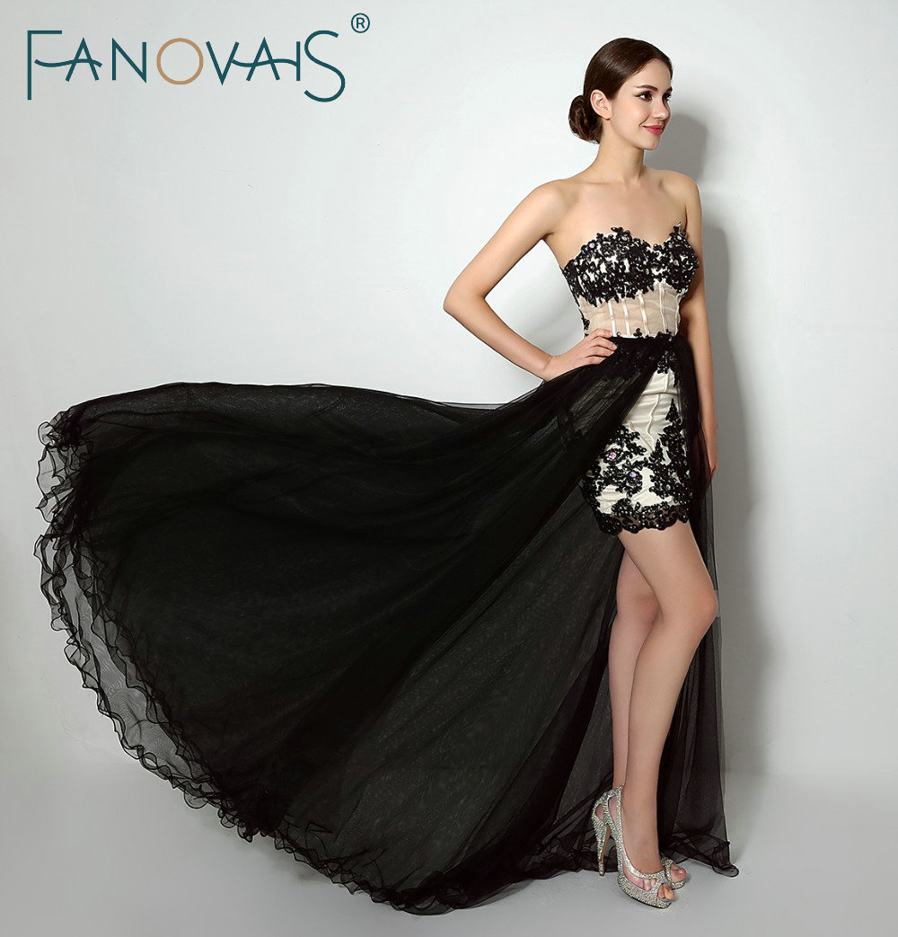 In Stocks Sweetheart Beaded Lace Appliques Two Pieces Evening Dress Lace-up Back Tulle Formal Party Gowns
