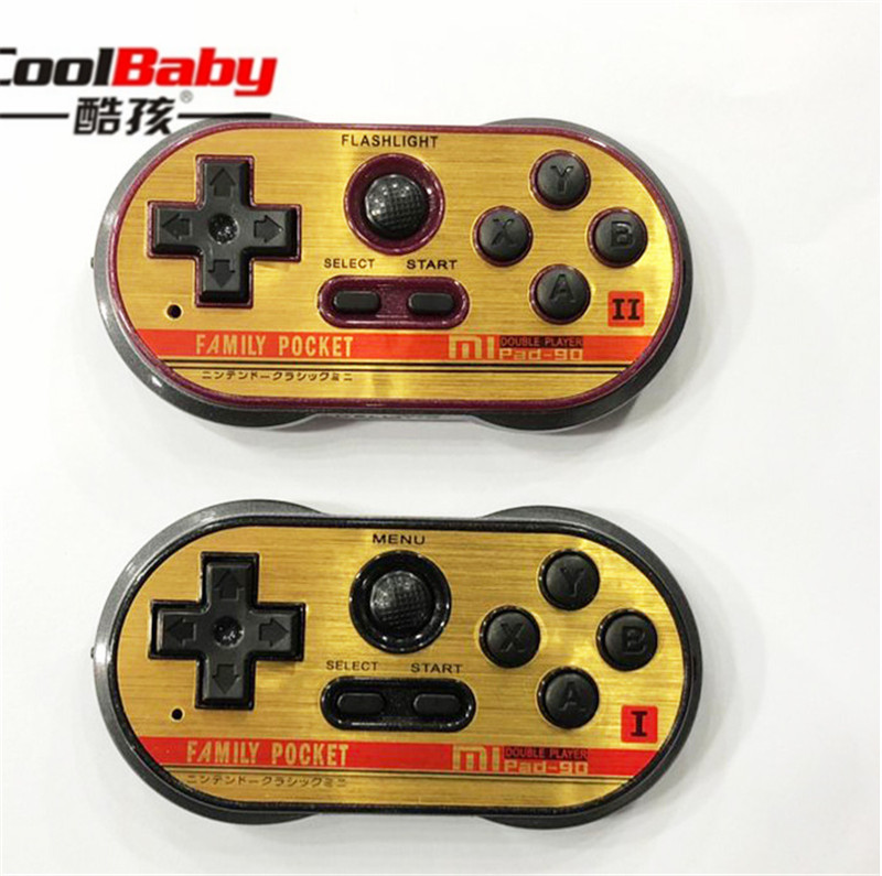 Mini Video Gaming Console For FC30 Pro Build In 260 Classic Games Handheld Game Players Support TV Output doubles play game