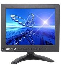 ZHIXIANDA 8 inch HD IPS Screen HDMI/VGA/AV/BNC/USB input mini hdmi Monitor(China (Mainland))