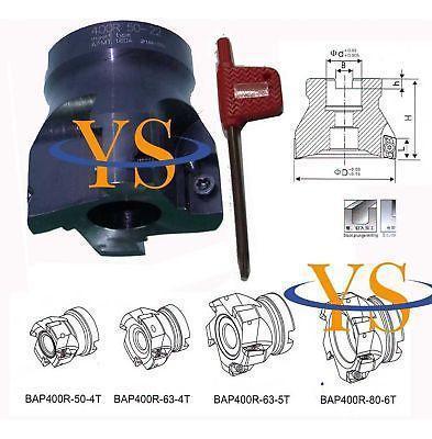 BAP400R 50MM 22 4T Face End Mill Flat Cutter Endmill 4Flute