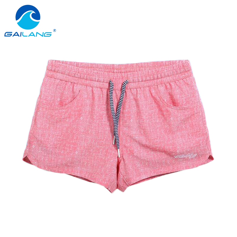 Bottoms Gailang Brand 2017 New Women Shorts Trunks Woman Swimwears Swimsuits Short Bottoms Boardshorts Bermudas Masculina De Marca