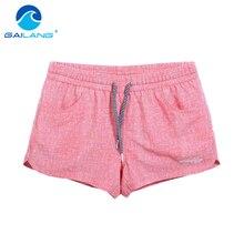 Gailang Brand Quick-drying Women shorts Swimwear Swimsuits Woman boardshorts polyster new Trunks Bermuda Casual Trunks