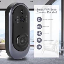 1080P беспроводной дверной звонок для домашней безопасности WiFi hd умная камера дверной звонок Инфракрасный видеодомофон дверной телефон