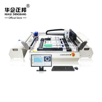 Desktop SMT pick and place machine ZB3245TSS, 54pcs feeders , closed loop control , with Win7 system , 220V/110V