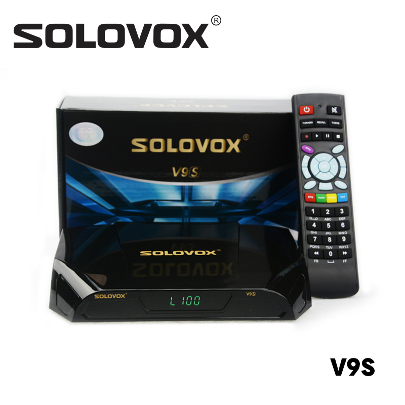 SOLOVOX V9S Support HDMI and AV Satellite Receiver Home Cinema Smart TV Box Build in WIFI Support WHEEL CCCAMD IPTV