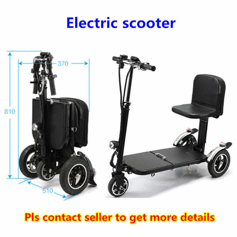 Best cheap folding three wheel battery power electric mobility scooter for adults