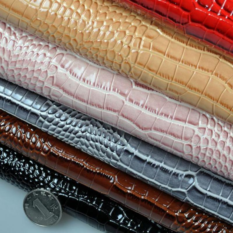 Online Shop 100x130cm Diy Fabric Crocodile Artificial Leather Synthetic  Holographic Material Upholstery Fabric For Furniture Kunstleder Tela  0141bdb320d5