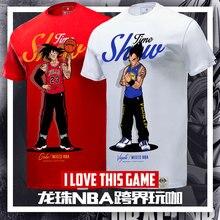 Dragon Ball Mixed NBA Showtime Basketball Cross T-Shirts