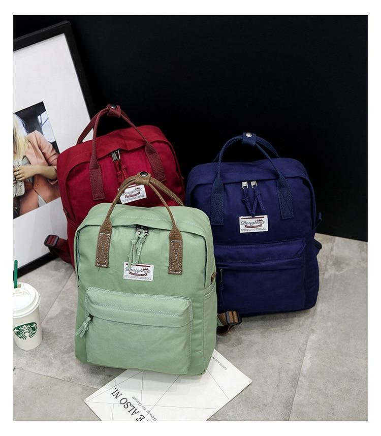 9f00b01e74e Mini Canvas Kanken Backpack For Women Brand Designer Teen Boys Girls Cheap  Water Resistant Urban Outfitters ...