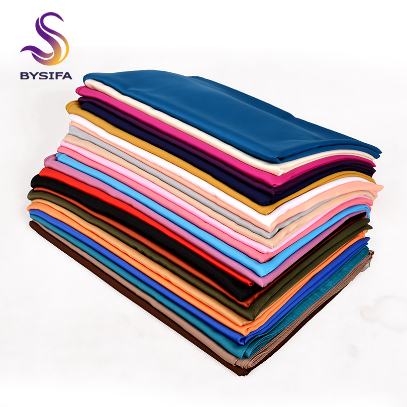BYSIFA| Solid Color Women   Scarves   Hijabs Fashion Brand Elegant Dull Satin Long   Scarves     Wraps   Winter Female Neck Head   Scarf   Shawl