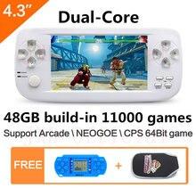 43 дюймовая двухъядерная портативная игровая консоль pap k3