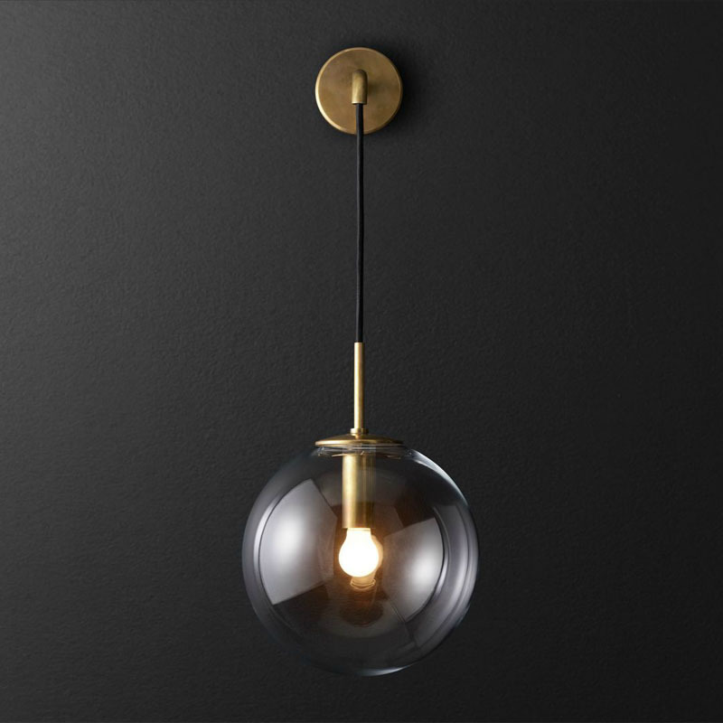 American Retro Postmodern Individuality Concise Wall Lamp Cafe Bar Bedroom Livingroom Aisle Study Decoration Lamp Free Shipping postmodern simple bedside wall lamp nordic creative cafe bar livingroom bedroom aisle background decoration lamp free shipping