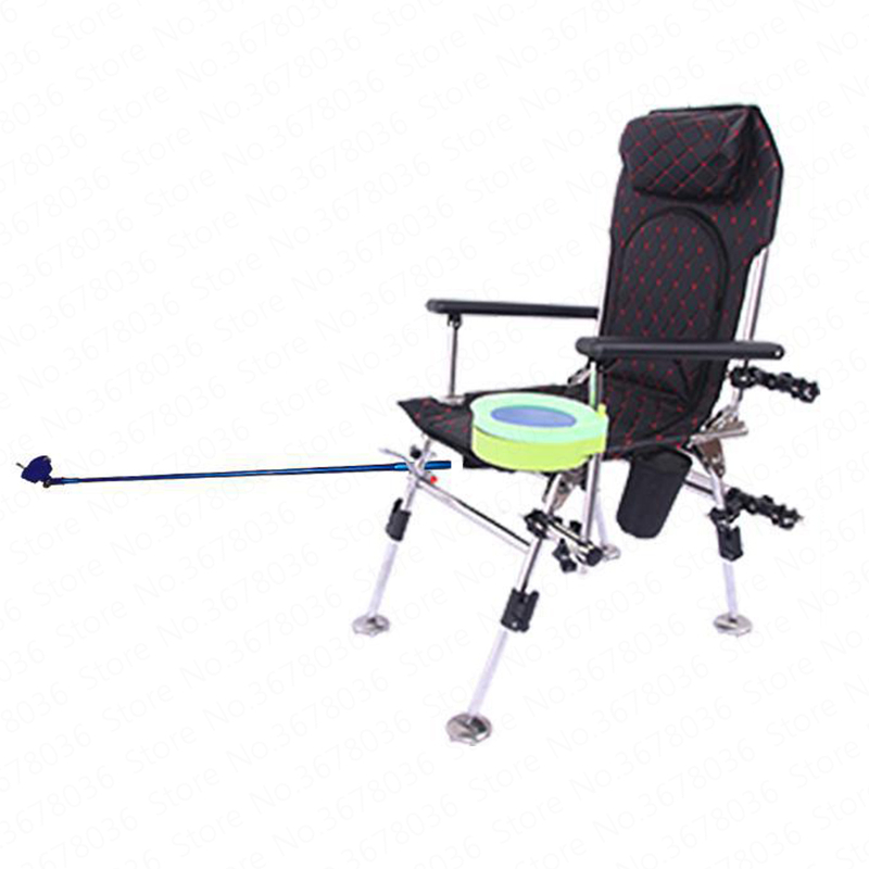 New folding fishing chair portable multi-function lifting fishing chair stainless steel recliner fishing stoolNew folding fishing chair portable multi-function lifting fishing chair stainless steel recliner fishing stool