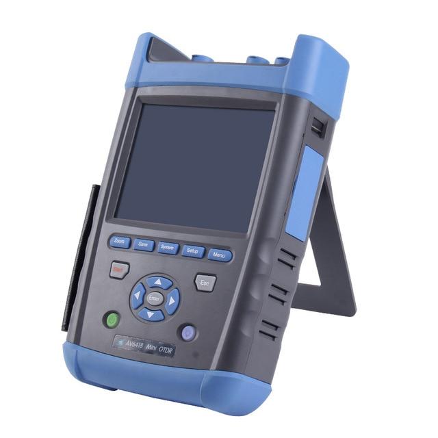 CETC OTDR AV6418 1310/1550nm 42/40dB Tester Fiber Optic OTDR + Power meter + Light sourceCETC OTDR AV6418 1310/1550nm 42/40dB Tester Fiber Optic OTDR + Power meter + Light source