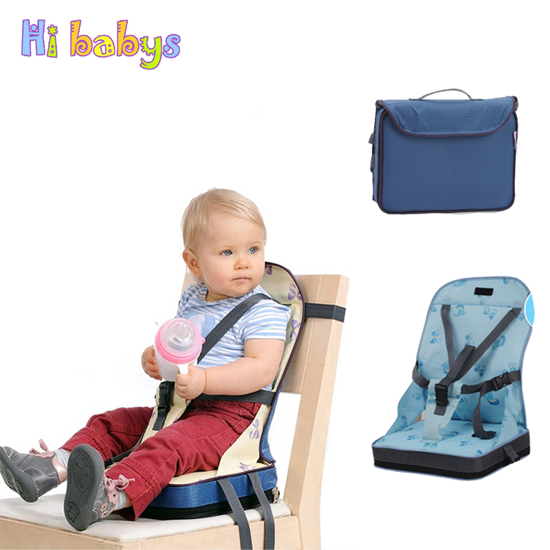 Baby Dining Chair Bag Child Portable Seat Toddler Waterproof Fabric Infant Travel Foldable Baby Safety Belt Feeding High Chair