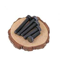 40 шт. DIN933 черные нейлоновые шурупы с полной резьбой наружный шестигранный винт для крепления изоляции винты M6 6 мм внешний Болт