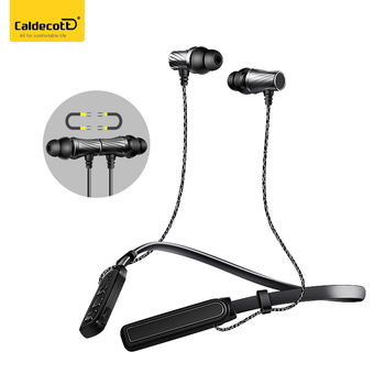 Handsfree Wireless Earphones 4.1 Bluetooth Headphone for iPhone Metal Headset Original Sports head phones Quality auriculares