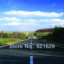 Suburb road 8'x8′ CP Computer-painted Scenic Photography Background Photo Studio Backdrop DT-XU-0232