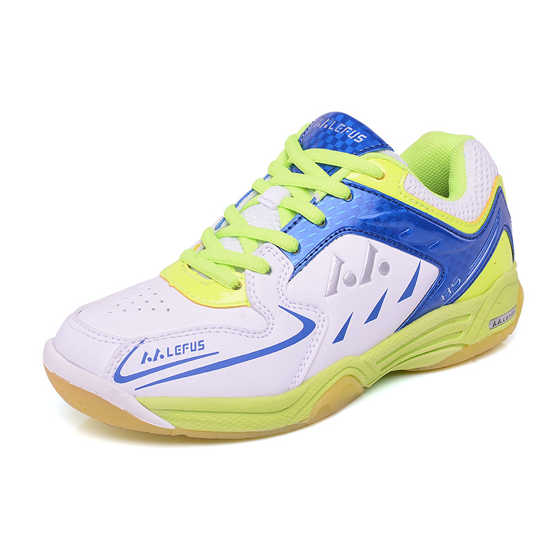 Light Table Tennis Shoes For Kids Children Girls Boys Badminton Shoes Breathable Anti-skid Badminton Sneakers Indoor Sport Shoes