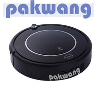 Intelligent Vacuum Cleaning Robot For Floor Carpets Pets And Allergies With Virtual Wall Auto Charging LED
