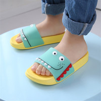 2019 kids slippers summer indoor baby bathroom slippers children flip flops home girls beach slippers boys sandals water shoes
