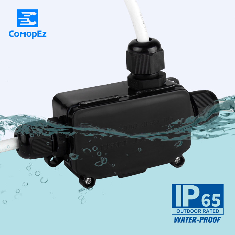 10pc Outdoor Waterproof Connector IP65 Industrial Cable Connector Male Plug and Femal socket 3 pin LED Power Connectors