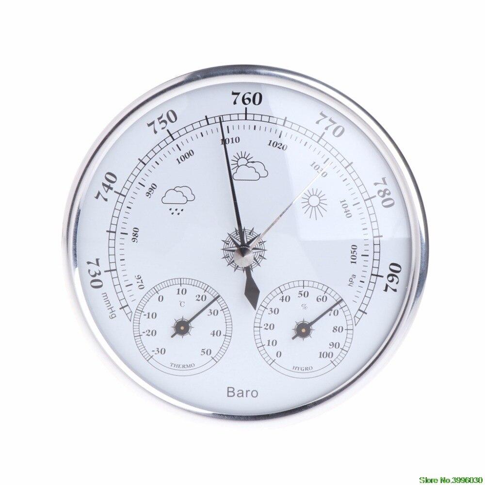 Бытовая Метеостанция Барометр термометр гигрометр настенный