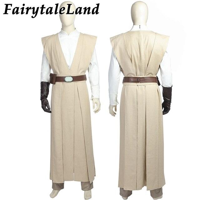 Star Wars 8 Luke Skywalker Cosplay Costume Adult Men Cosplay The Last Jedi costume Carnival Halloween Luke Skywalker costume 2