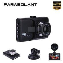 Parasolant 120 широкоугольный Автомобильный Регистраторы Full HD 1080 P регистраторы ясно Ночное видение автомобиля Камера петли Регистраторы нам /RU MENUAL Видеорегистраторы для автомобилей