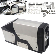 For BMW R1200GS ADV Adventure 2004 2012 Alloy ABS Box Toolbox 4.2 Liters Tool Box Right Side Bracket