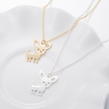 Cute Chihuahua Pendant Necklaces for Dog Lovers