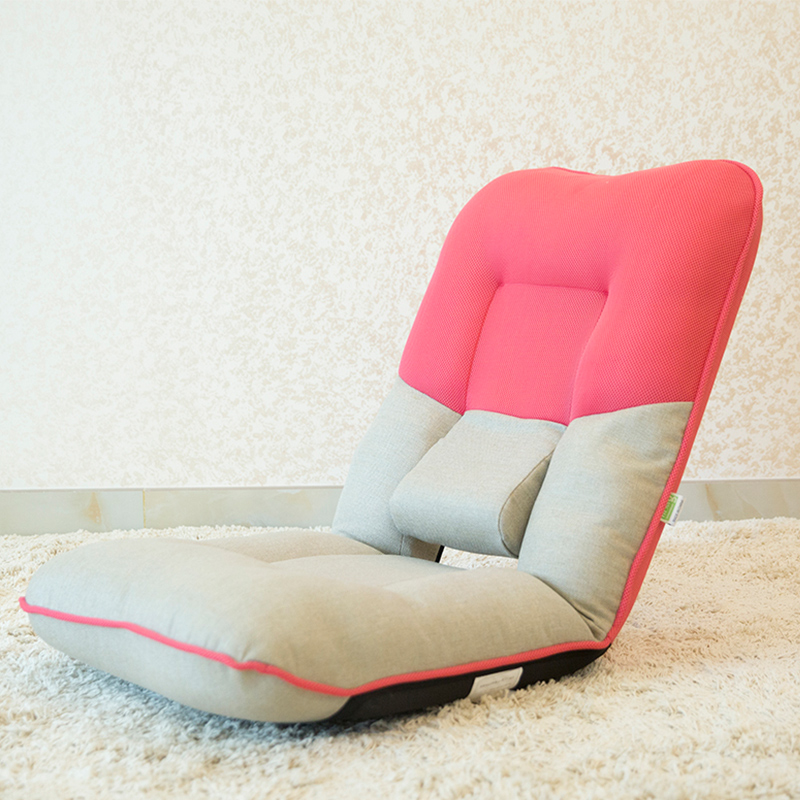 Floor Seating Fabric Chair 14 Position Foldable Living Room Furniture Modern Upholstered Leisure Portable Folding Lounge Chair children foldable chair living room