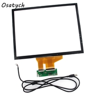 15 Inch 4 3 Projected Capacitive Touch Screen Panel 10 Points USB Controller Win 7 8
