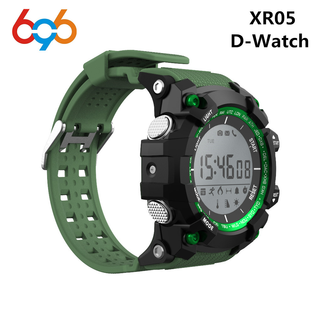 XR05 Smart Watch D-Watch Bluetooth IP68 Waterproof Watches Jogging Ultraviolet Altitude  ...