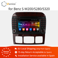Ownice C500 Android 6.0 8 Core Car DVD Player For Mercedes S CL Class W220 W215 S550 S600 S350 S400 S280 S320 S65 GPS Radio 4G