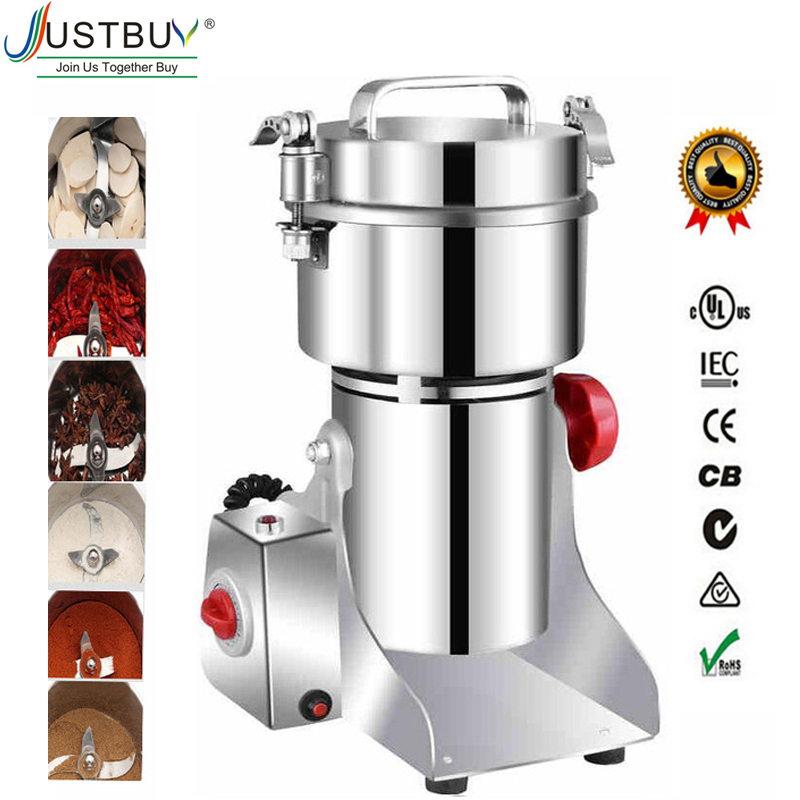 700g Grains Spices Hebals Cereals Coffee Dry Food Grinder Mill Grinding Machine gristmill home medicine flour