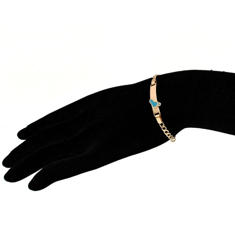 Baby Bracelets Bebe Kids Jewelry Bracelet Gold Chain Women Bangles Pulseiras Ouro Bracelete Bracciali Nina Armband Braclet BR30P jewellery