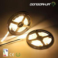 5M IP65 Waterproof Flexible LED Strip 2835led Lighting Led Tape Ribbon Outdoor Decoration Led Ribbon WarmWhite