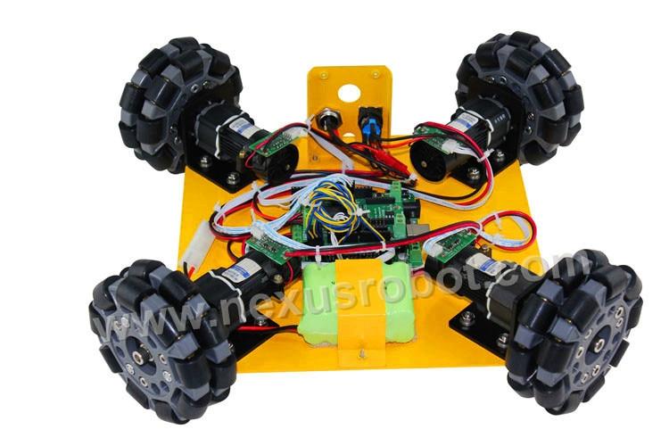 4WD 100mm omni жаттығу жиынтығы - Мектеп және оқу материалдары - фото 3