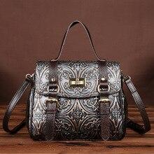 Luxury Handbags Women Bags Designer Famous Brand Messenger Shoulder Bags Ladies Floral Print Fashion Genuine Leather Bags Small