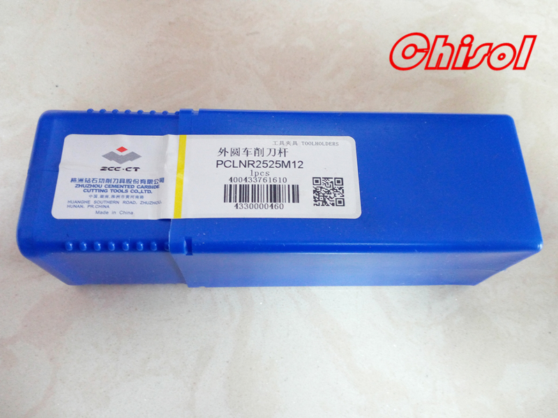 free shipping original ZCCCT CNC lathe PCLNR2525M12 / PCLNL2525M12 Internal turning tool holder indexable cutting tool for CNMG high quality cnc lathe internal grooving and turning tool holder mgivl2520 3 mgivr2520 3 for carbide insert mgmn300 m
