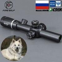 2 7X24 новые Riflescopes прицел охотничья Область ж/крепления Бесплатная доставка