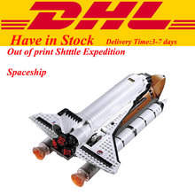 2017 neue LEPIN 16014 1230 Stücke Space Shuttle Expedition Modellbau Kits Minifigur Blöcke Bricks Kompatibel Kinder Spielzeug 10231
