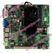 Mini motherboard d2500 dual-core industrial motherboard 12vdc pos machine motherboard vga dvi